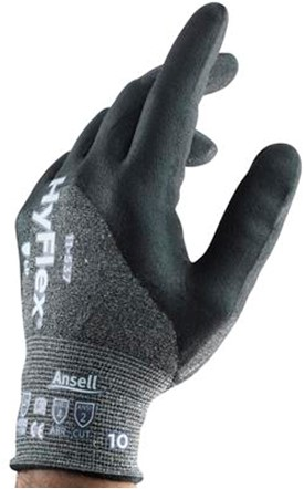 Ansell HyFlex 11-537 Handschoen Grijs 8