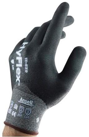 Ansell HyFlex 11-539 Handschoen Grijs 9