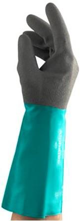 Ansell AlphaTec 58-535W Handschoen Antraciet/groen 10