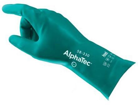 Ansell Alphatec AquaDri 58-330 Handschoen Groen 9 - 320 mm
