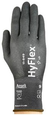 Ansell HyFlex 11-849 Handschoen Zwart 6