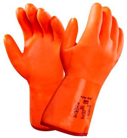 Ansell Polar Grip 23-700 Handschoen Fluo Oranje 10