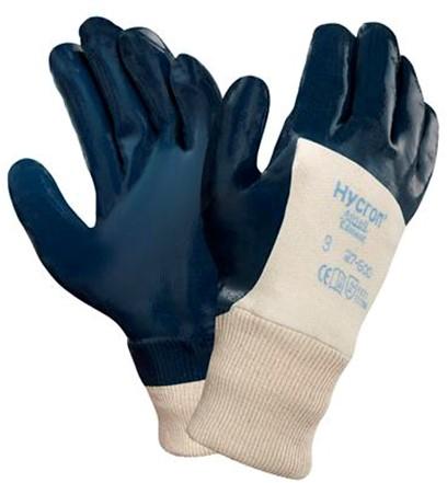 Ansell ActivArmr Hycron 27-600 Handschoen Blauw/wit 8