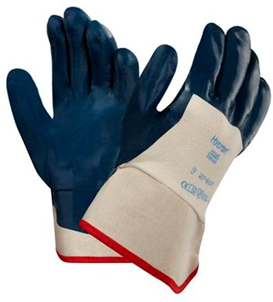 Ansell ActivArmr Hycron 27-607 Handschoen Blauw/wit 8