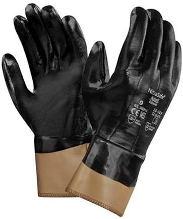 Ansell NitraSafe 28-359 Handschoen Zwart 8