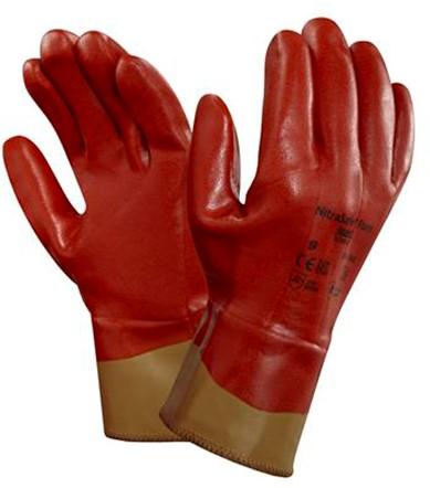 Ansell NitraSafe 28-360 Handschoen Bruin 10