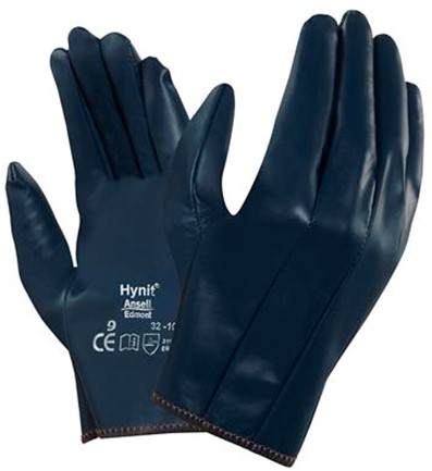 Ansell Hynit 32-105 Handschoen Blauw 9