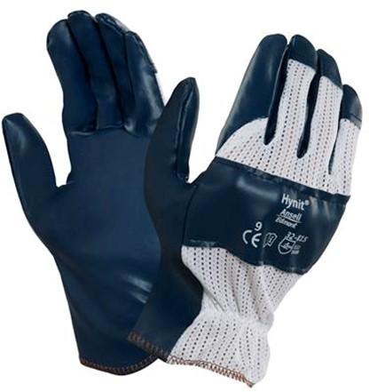 Ansell Hynit 32-815 Handschoen Blauw/wit 7½