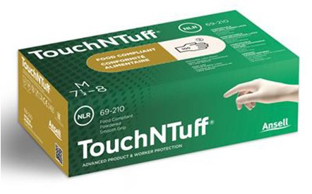 Ansell TouchNTuff 69-210 Handschoen Naturel 8½-9