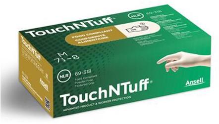 Ansell TouchNTuff 69-318 Handschoen Naturel 8½-9
