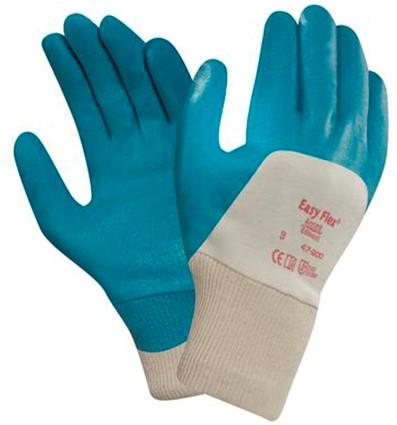 Ansell ActivArmr 47-200 Handschoen Blauwgroen/wit 9