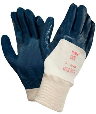 Ansell Hylite 47-400 Handschoen Blauw/wit 9