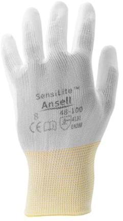 Ansell HyFlex 48-100 Handschoen Wit 8