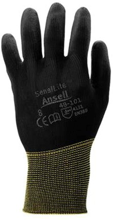 Ansell HyFlex 48-101 Handschoen Zwart 7