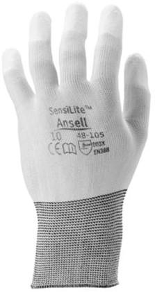 Ansell HyFlex 48-105 Handschoen Wit 9