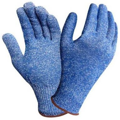 Ansell HyFlex 72-400 Handschoen Blauw 10