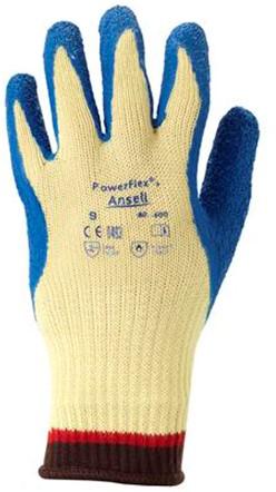 Ansell ActivArmr 80-600 Handschoen Blauw/geel 8
