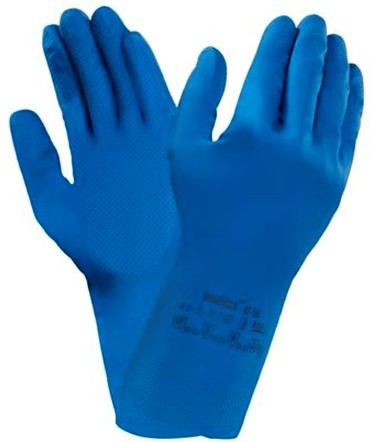 Ansell AlphaTec 87-195 Handschoen Blauw 8½-9