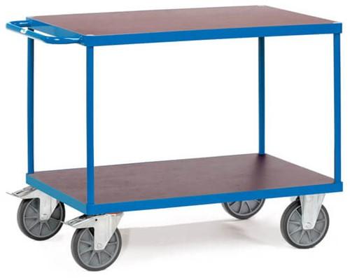 Duwbeugelwagen 2400 met watervaste platformen