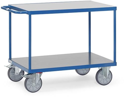 Duwbeugelwagen 2401 met harde PVC platformen