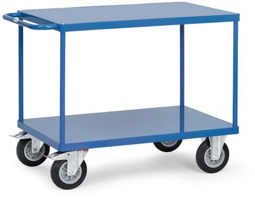 Tafelwagen 2400B met laadvlak van staalplaat Laadvlak 850 x 500 mm