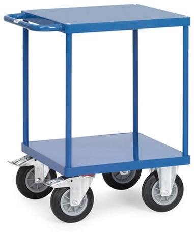 Tafelwagen 2496B met laadvlak van staalplaat Laadvlak 600 x 600 mm