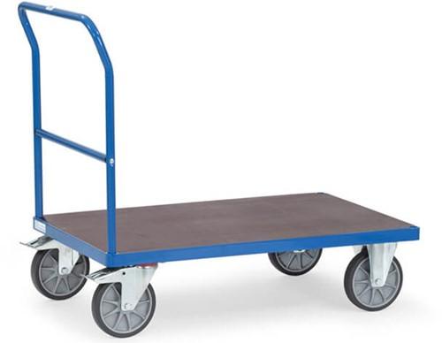 Duwbeugelwagen 2502 met watervast platform