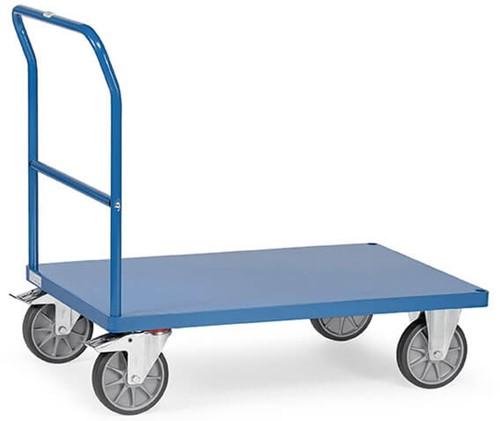Duwbeugelwagen 2503B met platform van staal
