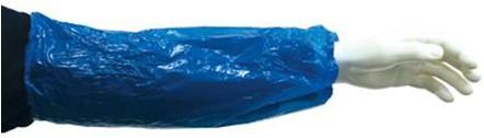 Mouw Polyethyleen 40 Mu Blauw One Size