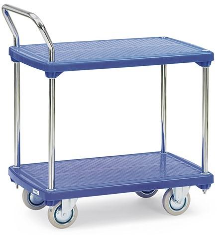 Kunststof tafelwagen 3132 Laadvlak 810 x 500 mm
