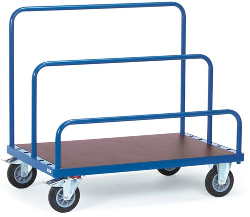 Platenwagen 4465 - zonder insteekbeugels Laadvlak 1.600 x 800 mm - 500 kg