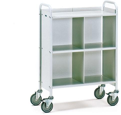 Dossierwagen 4873 Laadvlak 720 x 350 mm - grijs