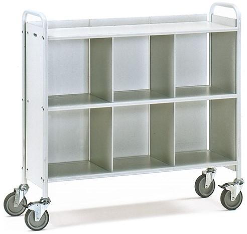 Dossierwagen 4878 Laadvlak 1080 x 350 mm - grijs