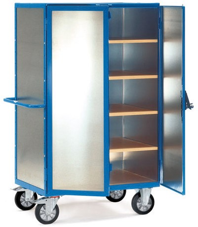 Etagewagen 5593 met aluminium plaat Laadvlak 1.200 x 780 mm