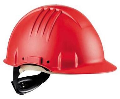 3M G3501 Veiligheidshelm Rood