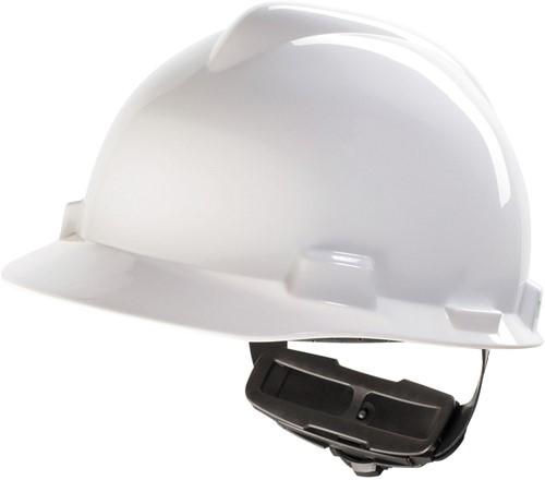 MSA V-Gard Veiligheidshelm Met Fas-Trac III Binnenwerk Wit