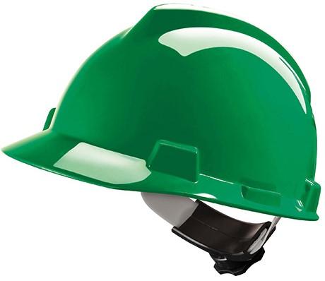 MSA V-Gard Veiligheidshelm Met Fas-Trac III Binnenwerk Groen