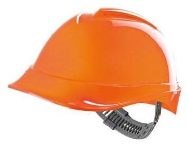 MSA V-Gard 200 Veiligheidshelm Met Push-Key Binnenwerk Oranje