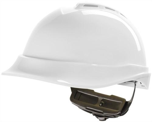 MSA V-Gard 200 Veiligheidshelm Met Fas-Trac III Binnenwerk Wit
