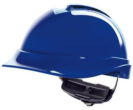 MSA V-Gard 200 Veiligheidshelm Met Fas-Trac III Binnenwerk Blauw