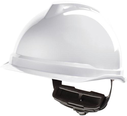 MSA V-Gard 520 Veiligheidshelm Met Fas-Trac III Binnenwerk Wit