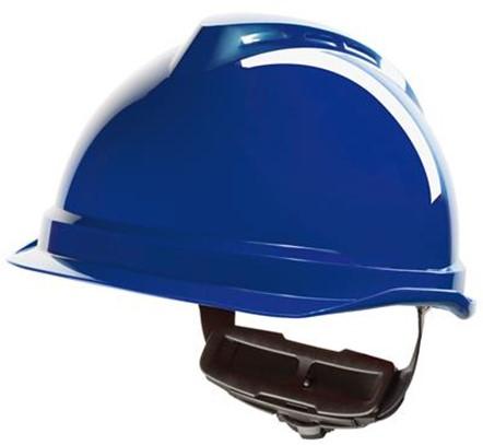 MSA V-Gard 520 Veiligheidshelm Met Fas-Trac III Binnenwerk Blauw