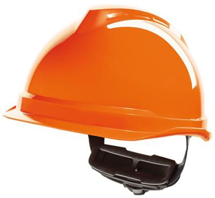 MSA V-Gard 520 Veiligheidshelm Met Fas-Trac III Binnenwerk Oranje