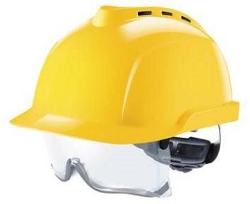 MSA V-Gard 930 Geventileerde Veiligheidshelm Geel