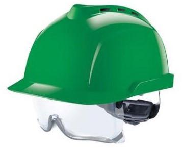 MSA V-Gard 930 Geventileerde Veiligheidshelm Groen