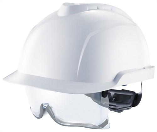 MSA V-Gard 930 Ongeventileerde Veiligheidshelm Wit