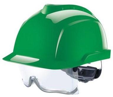 MSA V-Gard 930 Ongeventileerde Veiligheidshelm Groen