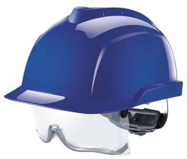 MSA V-Gard 930 Ongeventileerde Veiligheidshelm Blauw