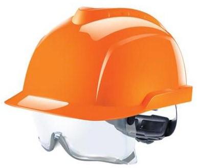 MSA V-Gard 930 Ongeventileerde Veiligheidshelm Oranje  - AntikrasAntidamp (AS)(AF)