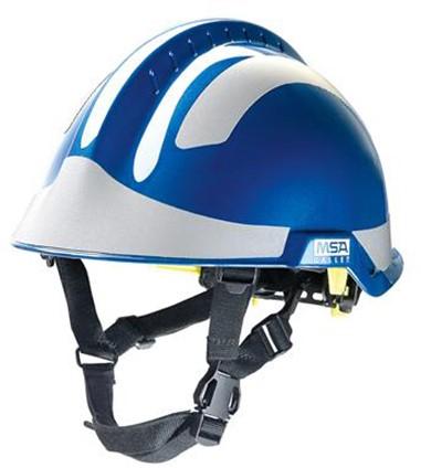MSA F2X-Trem Alpinehelm Blauw